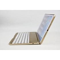 Teclado para iPad Air en español con Ñ Retroiluminado con 7 colores y 3 tonos de brillo bluetooth 3.0 QWERTY