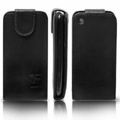 FUNDA SOLAPA HTC INCREDIBLE S BLACK (GT)
