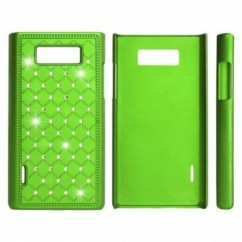 "HARD CASE ""ZIRCONIA"" iPhone 4/4s VERDE"