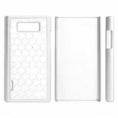 "HARD CASE ""ZIRCONIA"" iPhone 4/4s blanco HQ"
