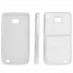 JELLY CASE  SAMS.i9100 GALAXY S II blanco