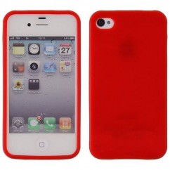 JELLY CASE  iPhone 4/4s rojo