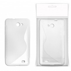 "BACK COVER ""S-CASE"" iPhone 4/4s blanco TRANSPARENT"