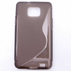 "BACK COVER ""S-CASE"" SAMS.i9100 GALAXY S II azul"