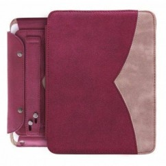 "FUNDA PARA TABLET ""TWIN"" iPad2/iPad3 rojo"