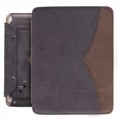 "FUNDA PARA TABLET ""TWIN"" iPad2/iPad3 gris"