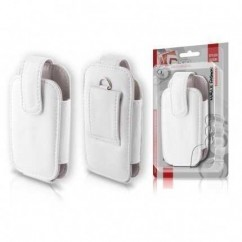 FUNDA Leather Collection E52 BLANCO