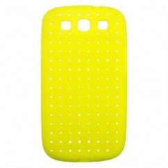 "BACK CASE ""COAT"" SAMS.i9300 GALAXY S III amarillo"