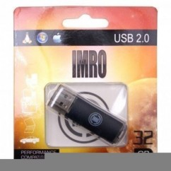 PENDRIVE IMRO 32GB Black