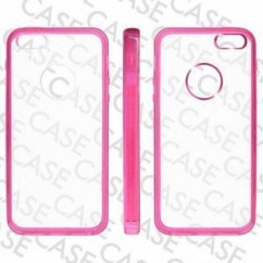 "CARCASA TRASERA ""GLASS""  iPhone 5 ROSA"