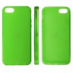 "CARCASA TRASERA ""MATT""  iPhone 5 VERDE"