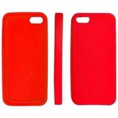 """CARCASA TRASERA """"SILICON""""  iPhone 5 AZUL MARINO"""