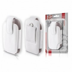 FUNDA Leather Collection IPHONE 5 blanco