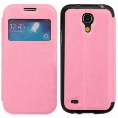 FUNDA SLIM VIEW SAMS.I9190 Galaxy S4 mini rosa