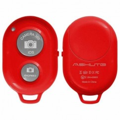 BLUETOOTH CAMERA SHUTTER  rojo