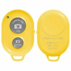 BLUETOOTH CAMERA SHUTTER  amarillo