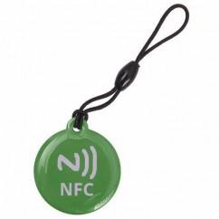 ETIQUETA NFC Tag llavero verde
