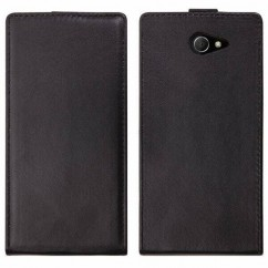 FUNDA VERTICAL  SLIM  SONY XPERIA M2
