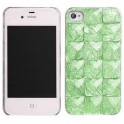 """CARCASA TRASERA """"STONES"""" iPhone 5/5s zielony"""