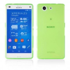 "BACK CASE ""FITTY"" SONY XPERIA Z3 Compact verde"