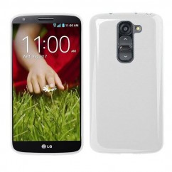 "BACK CASE ""FITTY"" LG G2 Mini (D620) blanco transparente"