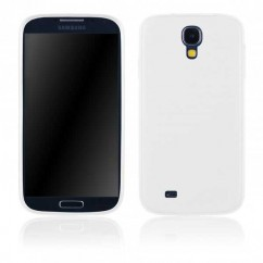 "BACK CASE ""FITTY MILK"" iPh.5/5s blanco transparente"