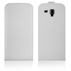 FUNDA VERTICAL  FLEXI SAMS.I8190 S3 Mini blanca