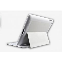 i-CaseBoard Funda con teclado QWERTY español para Apple iPad 2 a 4 generación BLANCO