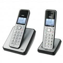 AEG Teléfono Dect Eole1620 DuoPantalla color/100 nombres