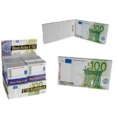 Block de notas 100€ Euros