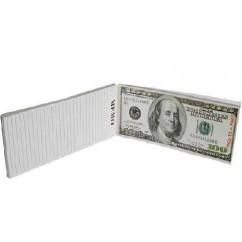 Block de notas 100$ Dólares