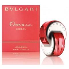 Set Bulgari Omnia Coral Mujer EDT 65 ml + Loción Corporal + Neceser
