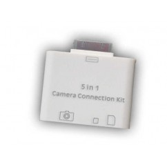 Lector de Tarjetas para iPad Kit Apple iPad Camera Connection 5 en 1