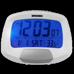 Brondi Radio Despertador CK-1100R blanco