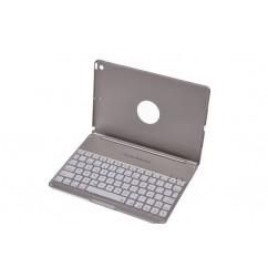 Teclado para iPad Air 2 en español con Ñ Retroiluminado con 7 colores y 3 tonos de brillo bluetooth 3.0 QWERTY