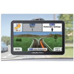 """Navegador GPS Navon N490 PLUS 4,3"""" iGo  + 1 Año Actualizaciones Gratuitas"""