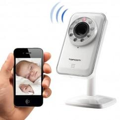 Cámara de Vigilancia Ip Inalámbrica Android & Ios TopCom NS6750